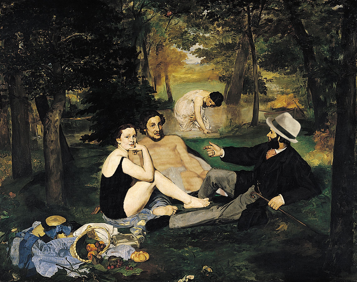Manet Forgery